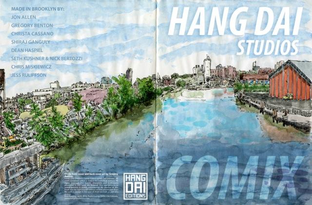 HANG DAI STUDIOS COMIX